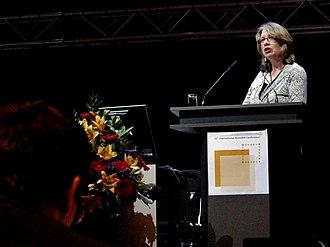 Anne Trefethen - Anne Trefethen speaking at the Oxford Internet Institute in 2012