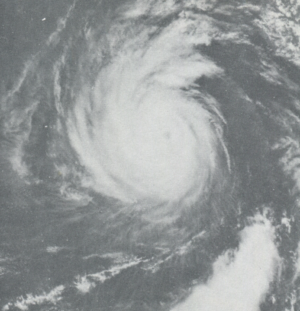 1976 Pacific hurricane season - Image: Annette June 101976