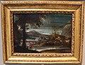 Annibale carracci, paesaggio fluviale con cacciatore, 1600 ca.jpg