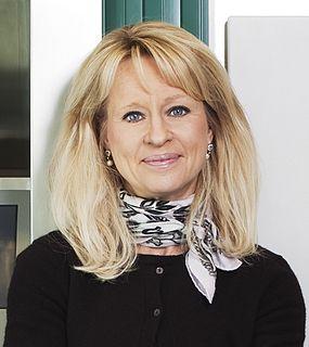 Annika Falkengren Swedish business woman, managing partner at Lombard Odier