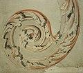 Anoniem, Krul met rankenmotief - Volute avec motif de vrilles, KBS-FRB.jpg