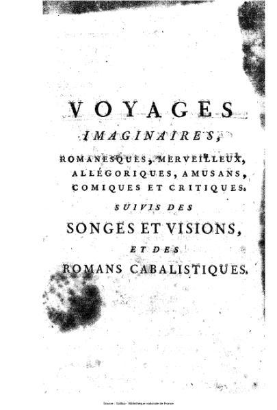 File:Anonyme ou Collectif - Voyages imaginaires, songes, visions et romans cabalistiques, tome 6.djvu
