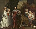 Anthony van Dyck (1599-1641) - The Five Eldest Children of Charles I - 267 - Windsor Castle.jpg