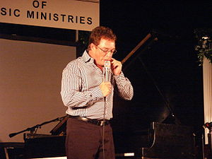 Anthony Burger - Burger on stage in 2003
