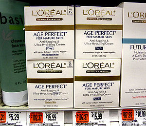 anti aging face creams and products