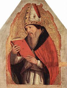 Agostino in un dipinto di Antonello da Messina