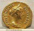 Antonino pio, aureo per faustina minore, 147-161 ca., 02.JPG