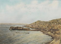Anzac Cove and New Zealand Point, looking north, 1915.jpg