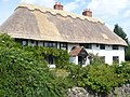 Appropriately, if unimaginatively, named Thatch Cottage, Borden - geograph.org.uk - 903170.jpg