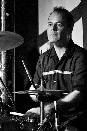 Ara Babajian - Ara Babajian of The Slackers performing in Bristol on 11 July 2014.