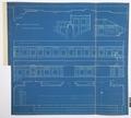 Arbetsritning, fastigheten nr 4 Hamngatan. Kägelbanan, blueprint - Hallwylska museet - 105269.tif