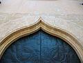 Arc conopial de la portada de l'església del convent del Corpus Christi, Llutxent.JPG