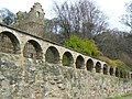 Arched wall - geograph.org.uk - 1160025.jpg