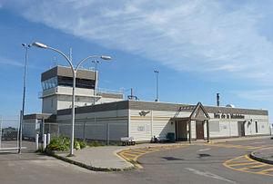 Îles-de-la-Madeleine Airport - Image: Areoport Ile De La Madelaine