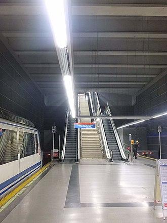 Arganda del Rey (Madrid Metro) - Image: Arganda del Rey Estación de Arganda del Rey 2