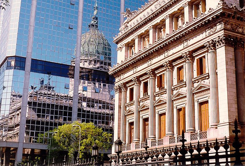 File:Argentine National Congress reflected in Annex of Congress.jpg