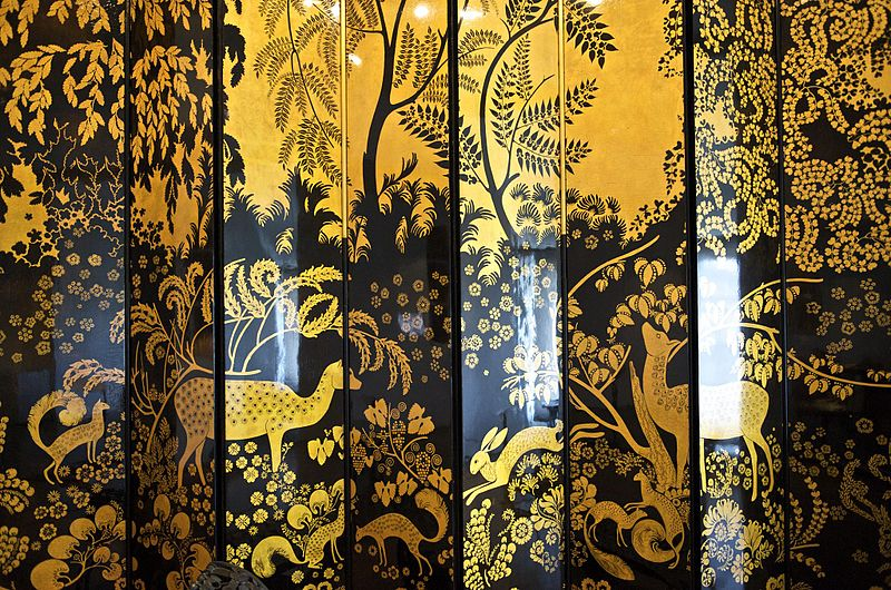 file armand albert rateau folding screen 1921 1922 mus e des arts d coratifs. Black Bedroom Furniture Sets. Home Design Ideas