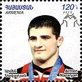 Armen Nazaryan 2012 Armenia stamp.jpg