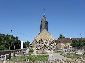 Armentières-sur-Avre - Image: Armentières sur Avre église
