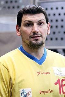 Spanish handball player (with hungarian and serbian origins)