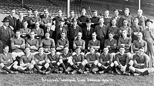 History of Arsenal F.C. (1886–1966) - Arsenal's squad for the 1920–21 season, the club's best under Leslie Knighton, finishing ninth in the First Division.