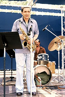 Art Pepper in 1979, Los Angeles}