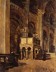interno della chiesa di Sant'Ambrogio