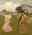 Arthur F. Mathews - Spring Dance - Google Art Project.jpg