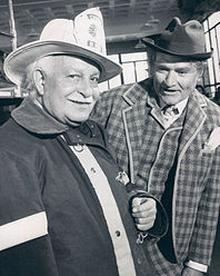 Arthur Fiedler and Red Skelton 1969