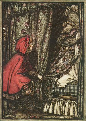 "English: illustration to a fairy tale ""Li..."
