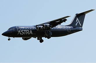 Astra Airlines - Astra Airlines BAe 146-300