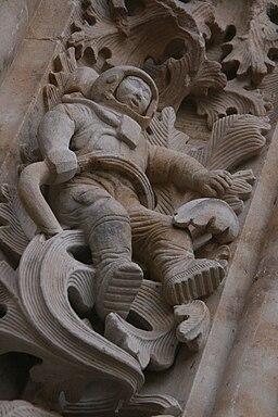 Astronauta Salamanca-Catedral
