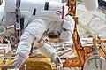 Astronauts John M. Grunsfeld and Richard M. Linnehan EVA (27990750596).jpg