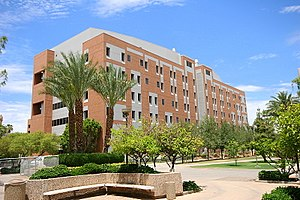 Ira A. Fulton Schools of Engineering - Goldwater Engineering Research Building; one of several buildings used by Fulton Schools