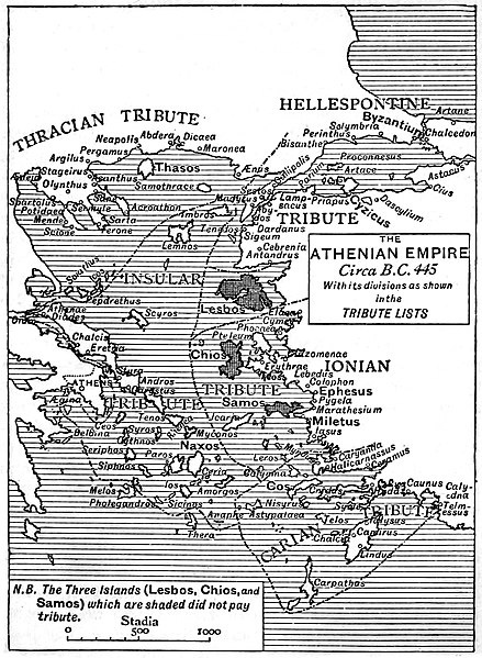 File:Athenian Empire in 445 BC according to the Tribute Lists.jpg