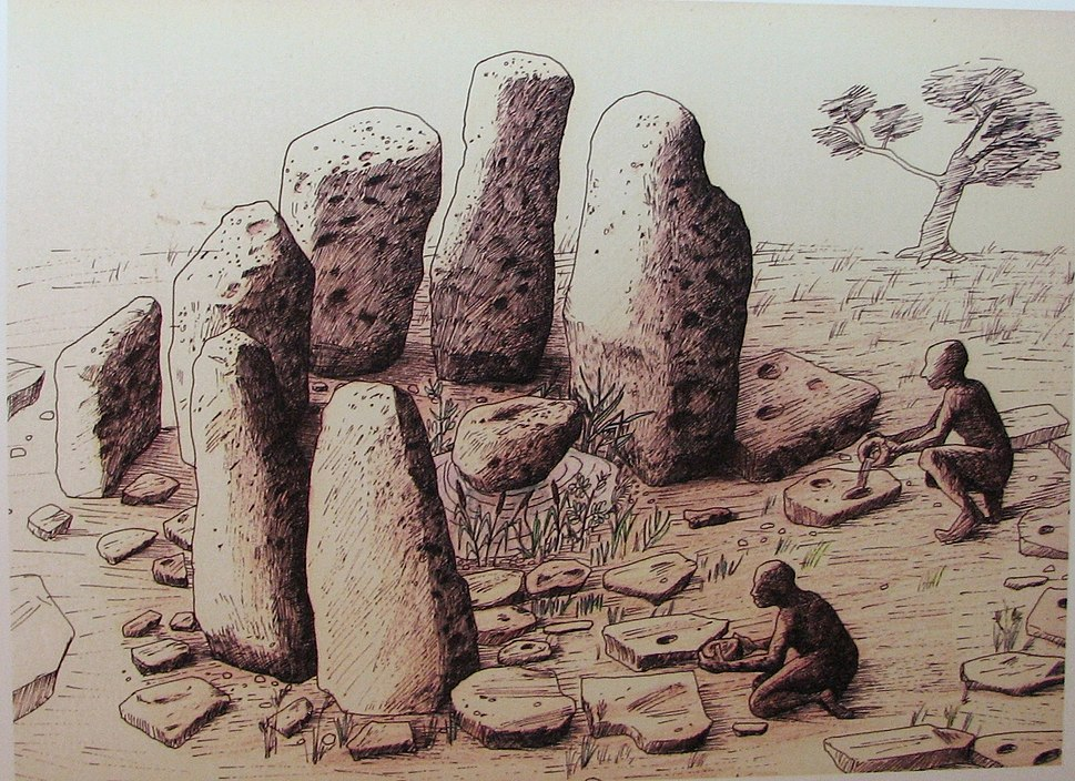 Atlit-Yam, Ritual structure made of stones, restoration