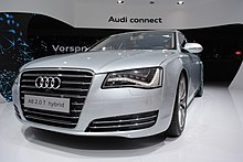 Audi A8 Hybrid At The Frankfurt Motor Show In 2017