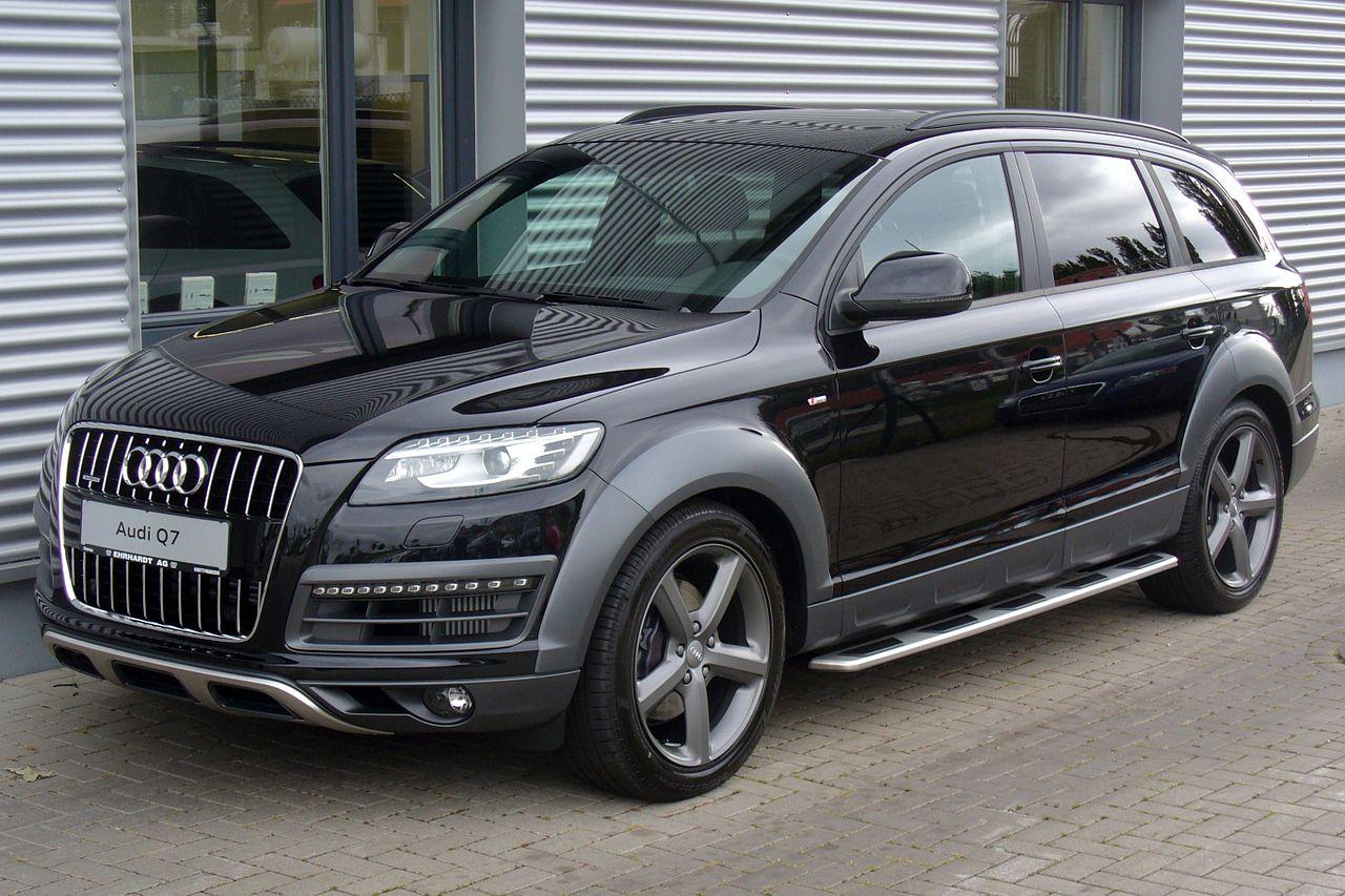 File:Audi Q7 offroad style S line 3.0 TDI quattro ...