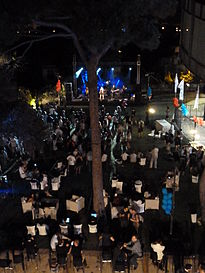 Auditorium Garden Cocktail - Wikimania 2011 P1040156.JPG