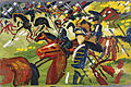 August Macke - Hussars on a Sortie (1913).jpg
