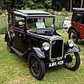 Austin 7 Box saloon, 1933, 750cc at Easton Lodge Gardens, Essex, England.jpg