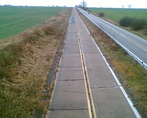 Autobahn a11 kilometer 0991a