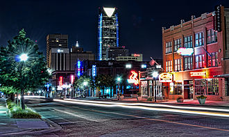 Oklahoma City - Automobile Alley in Oklahoma City