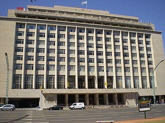Argentine Automobile Club - The Argentine Automobile Club building.
