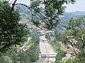 Autovía A 66 desde Santa Cristina.JPG