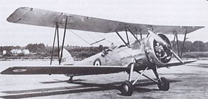 Avro 626 - Avro Prefect K5063 at Martlesham, July 1935