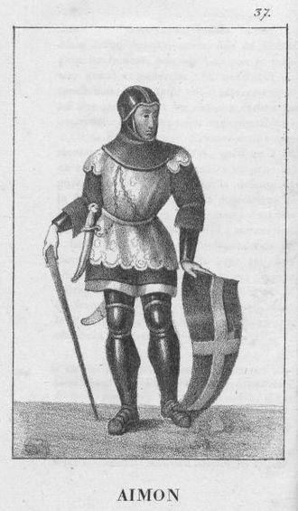 Aymon, Count of Savoy - Image: Aymon de Svoie