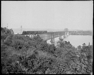 CSX Susquehanna River Bridge - Western end (from Havre de Grace)
