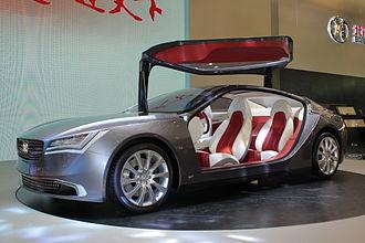 Fioravanti (automotive) - BAIC Concept 900 at AutoShanghai 2013, designed by Fioravanti