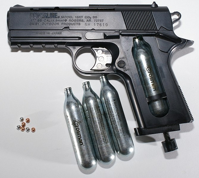 File:BB gun with CO2 and BBs.jpg
